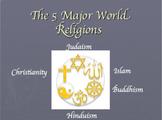 5 Major World Religions Bundle
