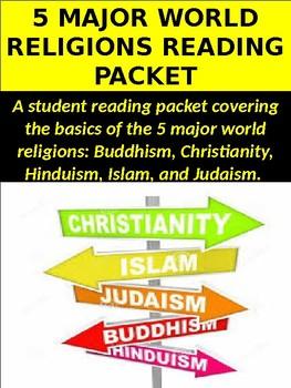 5 Major World Religions Res... by Mz S English Teacher | Teachers ...