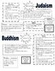 5 Major World Religions Study Guide