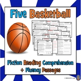 Basketball: Basketball Reading Comprehension: 5 Basketball Reading Passages