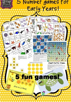 5 Maths Games for Early Years