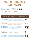 5 Meanings of Remainders