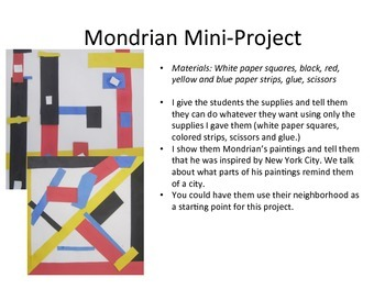 5 Mini Art Projects with Art History!