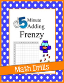 5 Minute Addition Math Drills