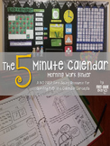 5 Minute Calendar NO PREP Morning Work & Weather Workbook