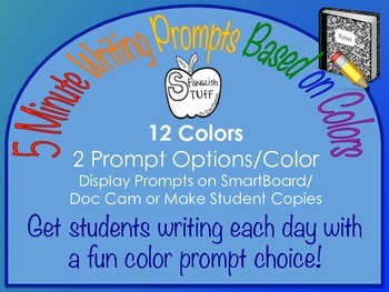 5 Minute Color Prompts