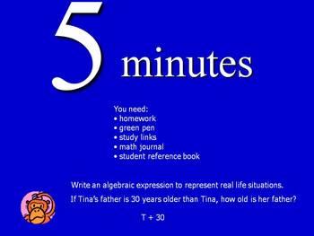 5 minute countdown timer by becky renegar teachers pay teachers