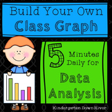 5-Minute Daily Data Analysis & Graphing Board Bundle for E