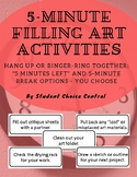 5-Minute Filling TAB Art Activities
