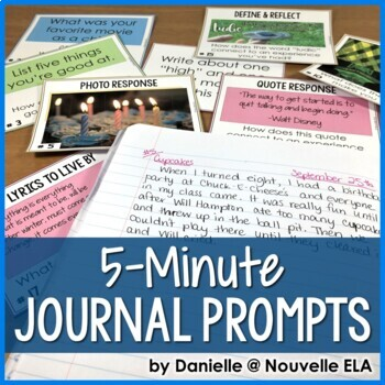 5-Minute Journal Prompts for the Whole Year