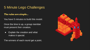 5 Minute Lego Challenges