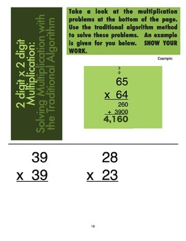 5 Minute Math: 25 Daily Warm-Ups for 4th Grade - Pack 2: Multiplication