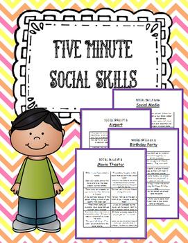 5 Minute Social Skills - Understanding Behaviors in Everyday Situations