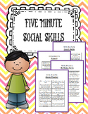 5 Minute Social Skills - Understanding Behaviors in Everyd