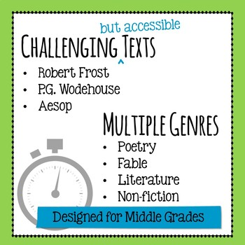 5-Minute Test Prep - Five FREE Daily Reading Warm-Ups