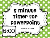 5 Minute Timer for PowerPoint