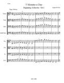 5 Minutes A Day for Beginning Orchestra