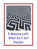5 Minutes Left and What Can I Do? : 100 Fun and Challenging Puzzles