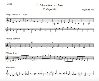 5 Minutes a Day for String Orchestra