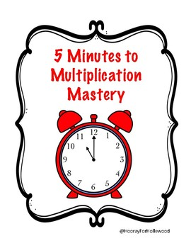 5 Minutes to Multiplication Mastery