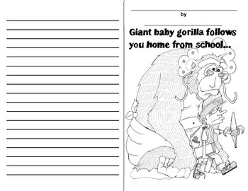 5 Minutes to WRITE! Giant Baby Gorilla