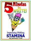 5 Minutes to WRITE! Improving Writing STAMINA