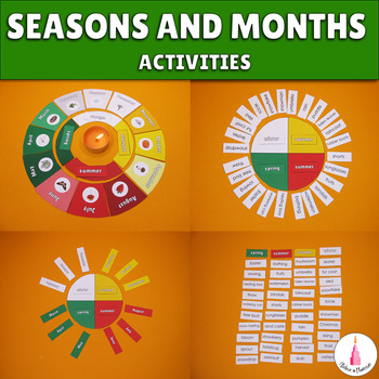 5 Montessori Materials for learning about Seasons and Months