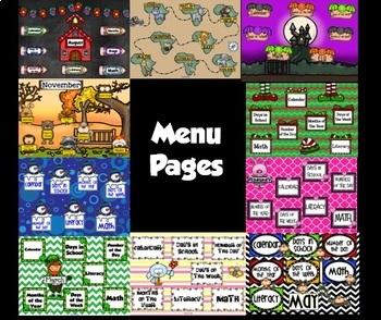 5 Month (Aug-Dec) Bundle of Smartboard Calendars & Games! -Part 1