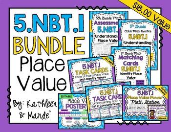 5.NBT.1 BUNDLE: Understanding Place Value