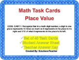 5.NBT.1 Place Value Task Cards