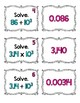 5.NBT.2 Matching Cards: Multiply & Divide ~ Powers of 10