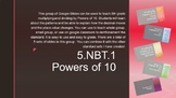 5.NBT.2 Powers of 10