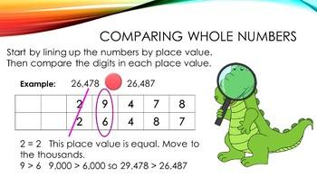 5.NBT.3 Comparing Numbers and Decimals