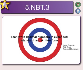 5.NBT.3 Standard, Expanded, Written Form Decimal Numbers
