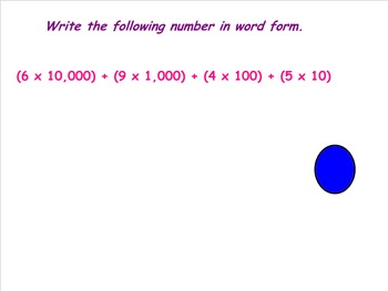 5.NBT.3 Standard, Expanded, Written Form Whole Numbers