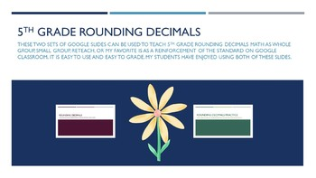 5.NBT.4 Rounding Decimals