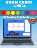 5.NBT.5 Boom Cards Distance Learning