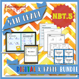 5.NBT.5 Bundle ⭐ Multiplying Whole Numbers