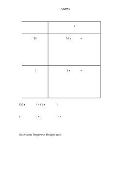 5 NBT 5 Lesson