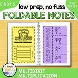 5NBT5 Multi-Digit Multiplication (Interactive Notebook Series)