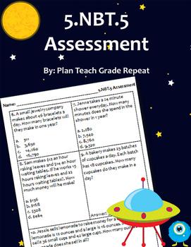 5.NBT.5 (Multiplication) Assessment