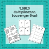 5.NBT.5 Multiplication Scavenger Hunt