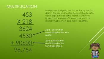 5.NBT.5 Multiplication of Whole Numbers