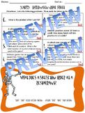 5.NBT.5 Multiplying Whole Numbers Halloween Joke Sheet