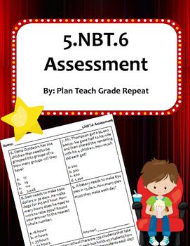 5.NBT.6 (Division) Assessment