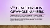 5.NBT.6 Division for 5th Grade