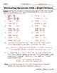 5.NBT.6 Estimating Quotients with 2-Digit Divisors