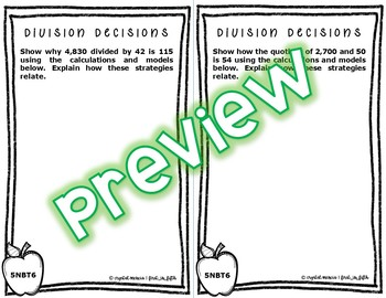5NBT6 Multi-Digit Division (Interactive Notebook Series)