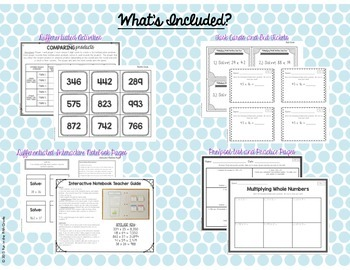 5.NBT.5 Multiplying Whole Numbers MEGA BUNDLE