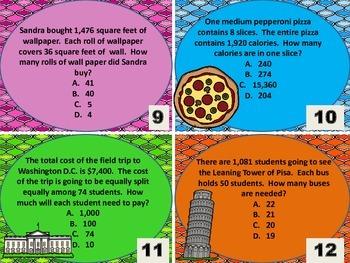 5.NBT.6 Task Cards